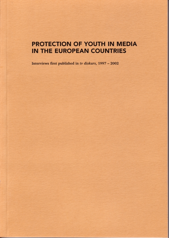 Protection of Youth in Media in the European Countries